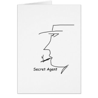 secret_agent greeting card
