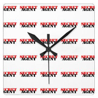 Secret Agent Clock
