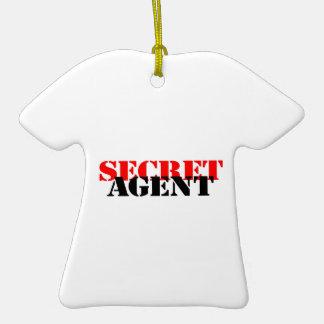 Secret Agent Christmas Ornament