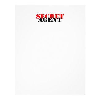 Secret Agent 21.5 Cm X 28 Cm Flyer