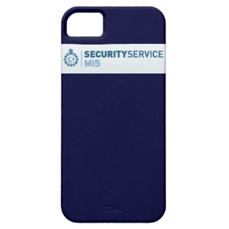 Secret Agent iPhone 5 Cases