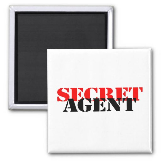 Secret Agent Magnets