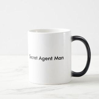Secret Agent Man 11 Oz Magic Heat Color-Changing Coffee Mug