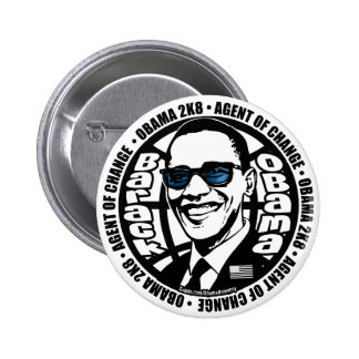 Secret Agent Obama Button