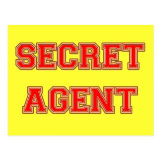 Secret Agent Postcards