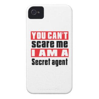Secret agent scare designs iPhone 4 Case-Mate case