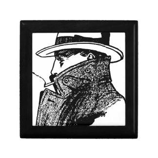 Secret Agent Small Square Gift Box