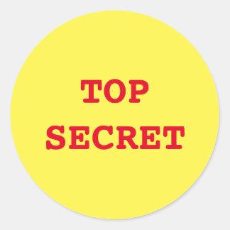 """Secret Agent/Spy"" Stickers"