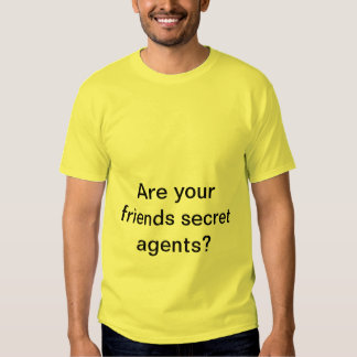 Secret Agets T shirt