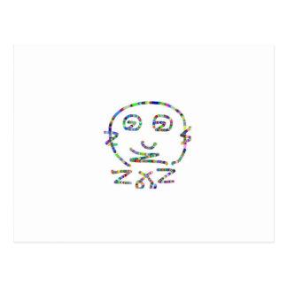 Secret Code Cartoon : Alpha ZZZ Start a CULT Postcard