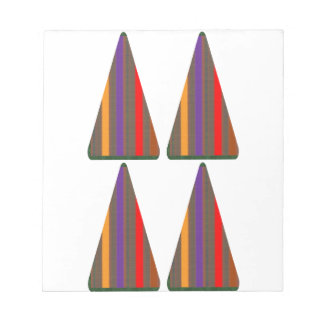 Secret CODE: PYRAMID Triangle Art: LOW PRICE GIFTS Notepad