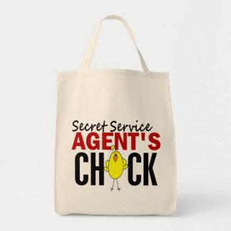 Secret Service Agent's Chick Canvas Bag