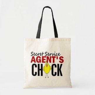 Secret Service Agent's Chick Tote Bag
