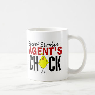 Secret Service Agent's Chick Basic White Mug