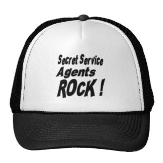 Secret Service Agents Rock! Hat