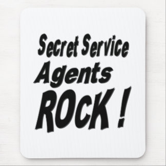 Secret Service Agents Rock! Mousepad