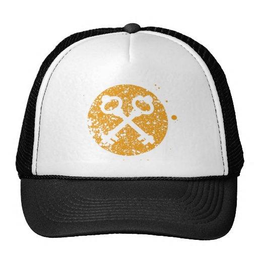 Secret Symbols Cap Mesh Hats