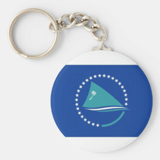 Secretariat of the Pacific Commu Basic Round Button Key Ring