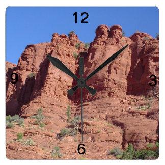 Sedona, Arizona Square Wall Clock