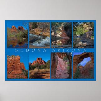 Sedona Arizona Collage Poster