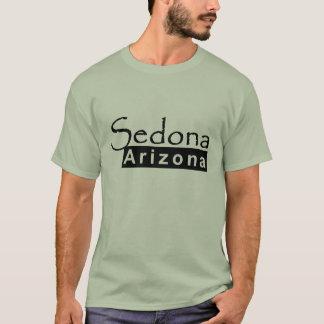 Sedona Arizona in Black T-Shirt