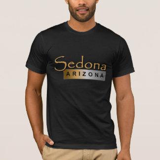 Sedona Arizona in Tan T-Shirt
