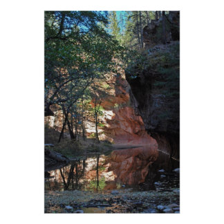 Sedona, Arizona Pink Canyon 1160 Poster