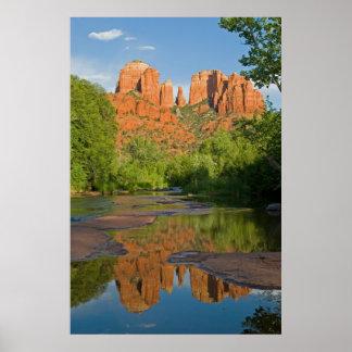 Sedona, Arizona Reflection 4149 Posters