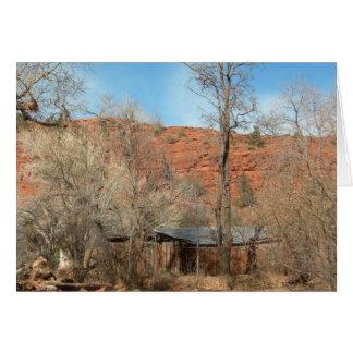 Sedona Arizona Ridge (Blank) Note Card