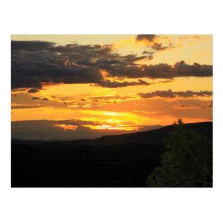 Sedona Arizona Sunset Postcard