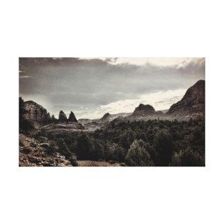 Sedona AZ desert run Gallery Wrapped Canvas