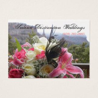 Sedona Destination Weddings Wedding Planner Card