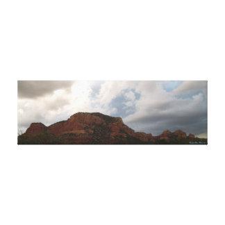 Sedona Grand Canyon Arizona Desert Sky Landscape Canvas Print