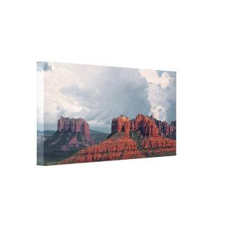 Sedona Rock Wrapped Canvas