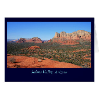 Sedona Valley Greeting Card