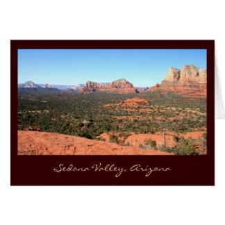 Sedona Valley Views Greeting Card