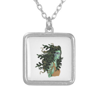 SEE HER GLORY SILVER PLATED NECKLACE