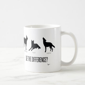 """""""See the Difference?"""" Basic White Mug"""