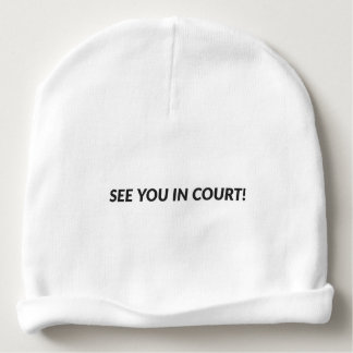 See You In Court - Beanie Baby Beanie
