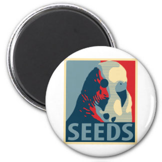 Seeds Of Hope 6 Cm Round Magnet