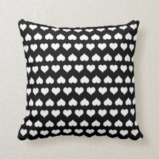 Seeing Hearts Throw Pillows