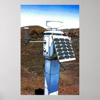 Seismic Monitoring Equipment Poster