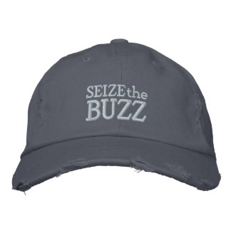 Seize the Buzz Embroidered Baseball Cap