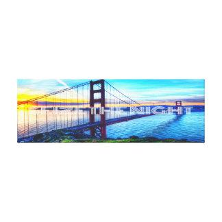 Seize The Night - San Francisco Gallery Wrap Canvas