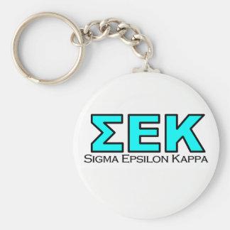 SEK Button Key Chain