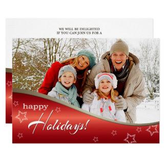 Selebrate the Season. Christmas Party Invitations