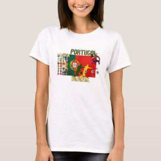 Selecção Portuguesa - 32 Paises Futebol Arte T-Shirt