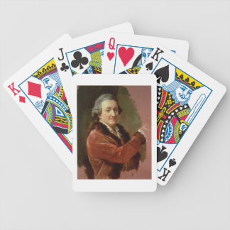 Self Portrait, 1773-87 (oil on canvas) Bicycle Playing Cards