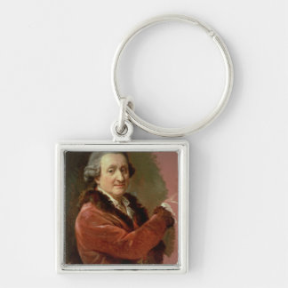 Self Portrait, 1773-87 (oil on canvas) Key Ring