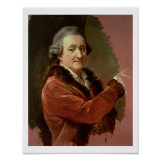 Self Portrait, 1773-87 (oil on canvas) Poster